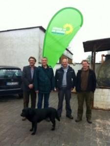 Thomas Schaffer und der Grüne OV laden ein zum Rundgang auf dem Birkenhof