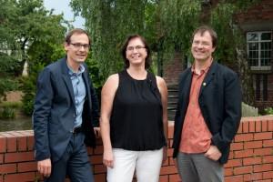 Die Direktkandidaten für den hessischen Landtag: Iris Schimpf-Reeg, Christian Grundewald und Robert Arndt